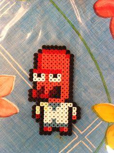 Dr. Zoidberg Futurama  hama perler beads by Beatriz Sales Almazán