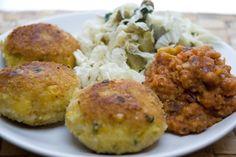 kotleciki z ryżu i warzyw