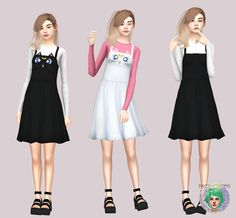 Sims 4 CC's - The Best: Cute Sailor Moon Dress By Twinksimstress