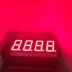 5pcs LED Display 0.56 inch 7 Segment 4 Digital Number Display Numbers Module Segmentos RED LED Module Common Cathode or Anode