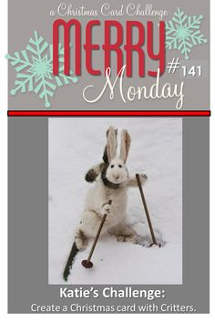 Merry Monday Christmas Challenge 141