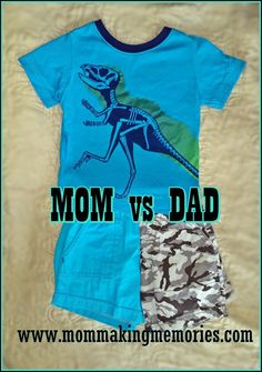 I have read much books and watch many different dvd's on the difference between men and women, mom vs dad. Read about the difference when dressing our son. Other Mothers, Making Memories, Funny Stories, Dads, Parenting, Posts, Mom, Watch, Mens Tops