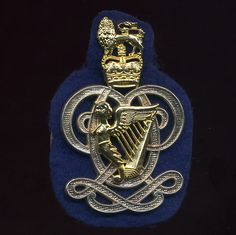 The Queens Royal Hussars Arm Badge