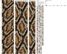 18 around tubular bead crochet rope pattern Crochet Bracelet Pattern, Crochet Beaded Necklace, Bead Crochet Patterns, Bead Crochet Rope, Seed Bead Patterns, Beading Patterns, Peyote Patterns, Loom Beading, Beading Needles
