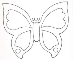 524 Mejores Imágenes De Dibujos De Mariposas Butterfly Template