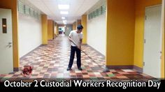 October 2 Custodial Workers Recognition Day