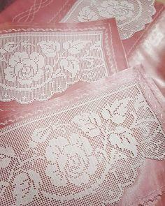 Thread Crochet, Crochet Doilies, Crochet Lace, Crochet Stitches, Free Crochet, Crochet Patterns, Filet Crochet Charts, Fillet Crochet, Embroidery Needles