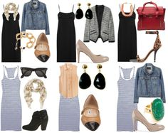 how to style your closet staples