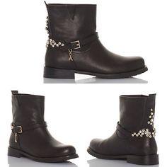 boots Patrizia Pepe. #doricocalzature #patriziapepe #biker