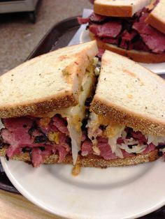 Katz's Deli - Reuben Pastrami sandwich
