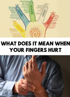 The fingers are fine endings of the hands and psycho-energetic terms, are terminations of our actions,. Find out What Does It Mean When Your Fingers Hurt!