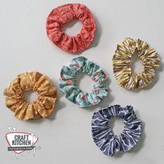 Scrunchies - CraftKitchen Scrunchies
