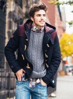 Warm layered fashion Ideas For winter0361