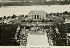 LINCOLN MEMORIAL DEDICATED ON May 30, 1922