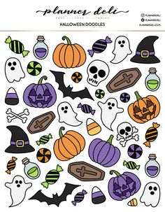Fantastic Free Printable Stickers halloween Concepts Among the (many) blessings on the world wide web is printables. I'm just remaining kind of funny, Halloween Doodle, Halloween Drawings, Halloween Stickers, Halloween Printable, Halloween 2020, Halloween Stuff, Halloween Prints, Printable Planner Stickers, Journal Stickers