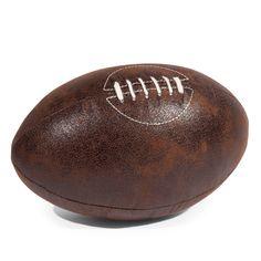 Ballon de football vintage maison du monde design kids kid 39 s de - Ballon rugby vintage ...