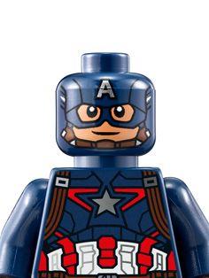 Captain America - Characters - Marvel Super Heroes LEGO.com