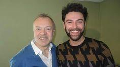 Aidan.and Graham Norton at BBC radio 2