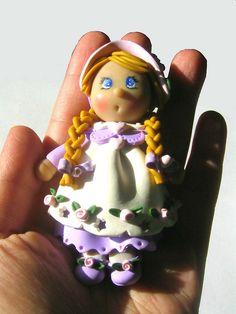 Doll n°1 by Clay Dreams Design (Il magico mondo di Ro), via Flickr