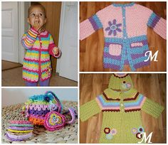 Crochet designs by Vendulka Maderska