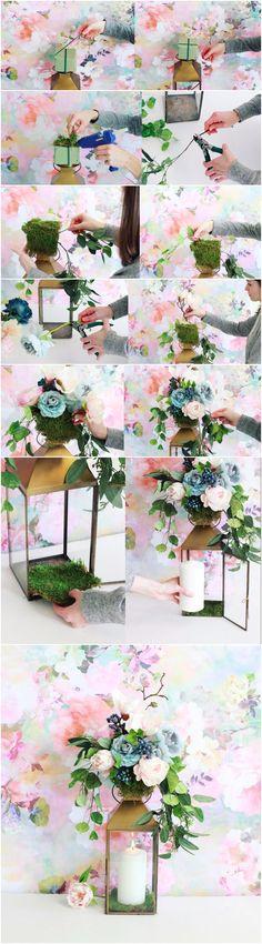 Lamparita de boda DIY / http://www.deerpearlflowers.com