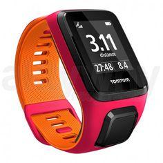 Zegarek TomTom Runner 3 Pink/Orange - Small | Jaki wybrać zegarek treningowy? - Aktywny Nadgarstek