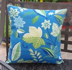 Throw Pillow Cover  16x16 sewn with Solarium's  by PersnicketyHome, $15.95