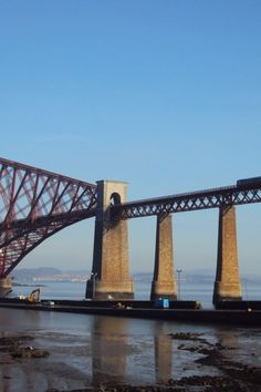 Image galleries and information about my visited World Heritage Sites. - Details for the World Heritage Site 'The Forth Bridge' in Firth of Forth, Scotland The Forth, Bridge Design, Sydney Harbour Bridge, World Heritage Sites, Long Distance, Great Britain, Scotland, Stickers, Travel