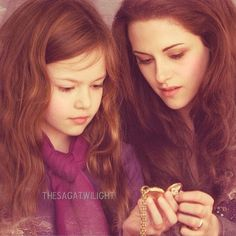 Renesmee and Bella @thesagatwilight