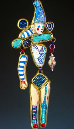 Bring in the clowns necklace www.etsy.com/shop/susansorrentino