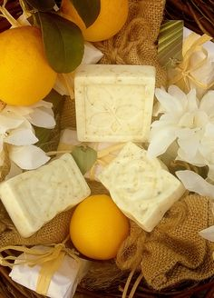 Calm Sunrise With Goats Milk Or Shea Butter, Coconut Oil, Apricot Oil and Grape Seed Oil, Citrus Fragrance Oil Blend, Sweet Almond Oil, Orange Peel and Chamomile.  All Natural Ingredients. Handcrafted With Love By #Neo Natural. Essential. Organics. #Soap #NaturalSoap #CalmSunrise #HandCrafted