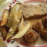 Συνταγές : Σνίτσελ αλά Κρέμ Greek Recipes, Pork, Meat, Yummy Yummy, Greece, Pork Roulade, Beef, Greece Country, Pigs