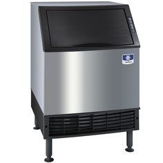 """Manitowoc UD-0140A NEO 26"""" Air Cooled Undercounter Full Size Cube Ice Machine with 90 lb. Bin - 129 lb."""