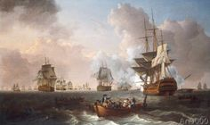 William Anderson - The Battle of the Nile, 1st August 1798