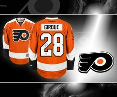 Claude Giroux Philadelphia Flyers Autographed Jersey . $359.10. This is an official licensed Claude Giroux Philadelphia Flyers Autographed Jersey. The jersey is brand new from Reebok with all of the lettering and numbering professionally sewn on. To protect your investment, a Certificate Of Authenticity and tamper evident hologram from sportauthentix is included with your purchase. This is a stock photo. Please not that the autograph may be in a different location than th...