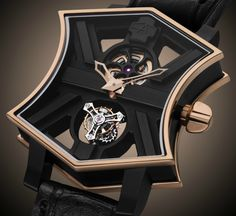 "ArtyA Cumbere Tourbillon & ArtyA Son Of Sound Magic Black Tourbillon Watches - by Kenny Yeo - on aBlogtoWatch.com ""ArtyA is a brand established by Swiss watch designer Yvan Arpa. Prior to ArtyA, he had stints at Baume & Mercier, Hublot, and later, Romain Jerome. ArtyA was started in 2010 and soon gained a reputation for making brash and creative timepieces. And for 2016, the brand is releasing two unique pieces, the ArtyA Cumbere Tourbillon and the ArtyA Son of Sound Magic Black…"