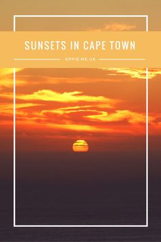 Sunset Photography | Sunset Beach | Beautiful Sunset | Pink Sunset | Sunset Sky | Cape Town South Africa | Cape Town Pinterest | Things to do in Cape Town | Cape Town Travel | Cape Town Photography