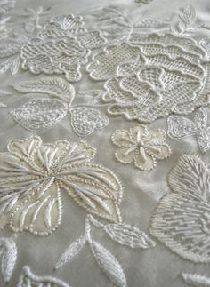 Exquisite Bridal Embroidery   by Hand & Lock, London