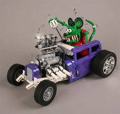 LEGO Subaru WRX STi   Lego   Pinterest   Subaru wrx  Subaru and Lego Ed Roths Rat Fink Hot Rod made from Lego More