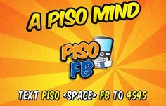 Enjoy 1 peso for 10 minutes internet, only at TNT internet promos. Text PISO  FB to 4545. Register now to this great promo.
