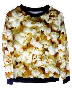 East Knitting FH-86 winter coat women crewneck galaxy sweatshirts fall 2014 women designer fashion Popcorn whimsy Hoodies New 1217294890