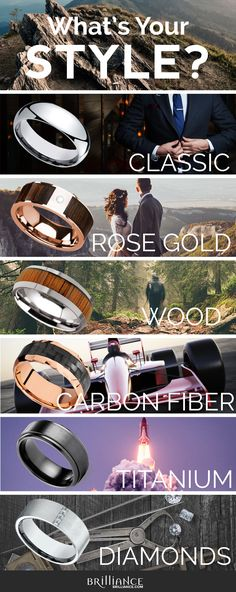 Men Wedding Rings - Find a mens wedding band that can match any look or lifestyle. From engraved rings to unique materials like wood, meteorite and damascus style, there are endless options to discover. Wedding Men, Wedding Engagement, Fall Wedding, Our Wedding, Dream Wedding, Wedding Rings, Wedding Quotes, Perfect Wedding, Partys