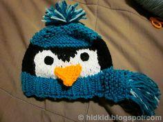 Penguin Knit Hat by Heidi Arjes