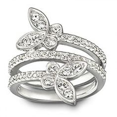 Swarovski Nightingale Ring 1126775