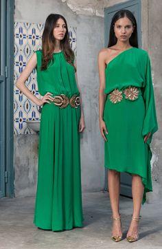 Sayan: asimetrico en verde www.lamasmona.com