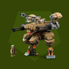 Heavy Machine Gun, Machine Guns, Lego Machines, Lego Mechs, Lego Military, Lego War, Cool Lego, Awesome Lego, Mecha Anime