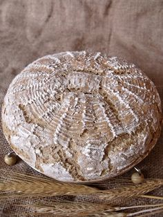 Bajor rozsos kenyér - Kifőztük, online gasztromagazin Rye Bread, How To Make Bread, Bread Baking, Sandwiches, Healthy Living, Bakery, Food And Drink, Cheese, Vegan