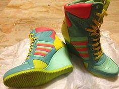 super popular c3908 04e5b Adidas Jeremy Scott JS Wedge HI Sneakers Rare Shoes Q23023 Deadstock US 7  Size   eBay