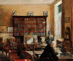 Mary Dawson Elwell - Interior Study