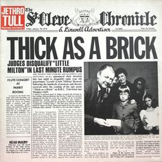 Jethro Tull - Thick as a Brick (1972)